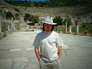 Simon Peter Sutherland at Ephesus  © 2013 Simon Peter Sutherland