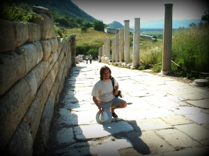 Simon Peter Sutherland at Ephesus  © 2004/2013 Simon Peter Sutherland