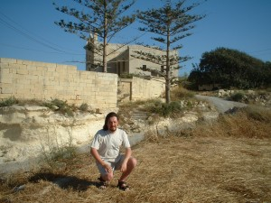 Simon Peter Sutherland at San Pawl Milqi, Malta © 2005/2013  Simon Peter Sutherland