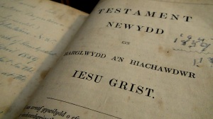 Welsh Bible from Anglesey