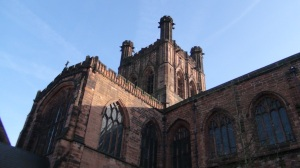 Chester Cathedral   © 2013 Simon Peter Sutherland