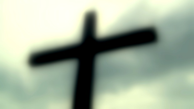 Cross out of focus © 2014 Simon Peter Sutherland