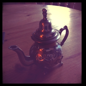Silver Tea pot © 2014 Simon Peter Sutherland