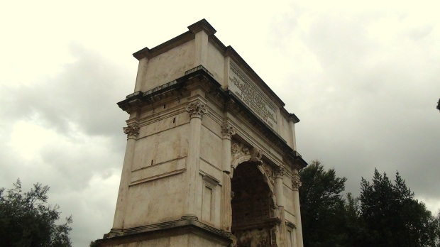 The Arch of Titus, Rome © 2015 Simon Peter Sutherland