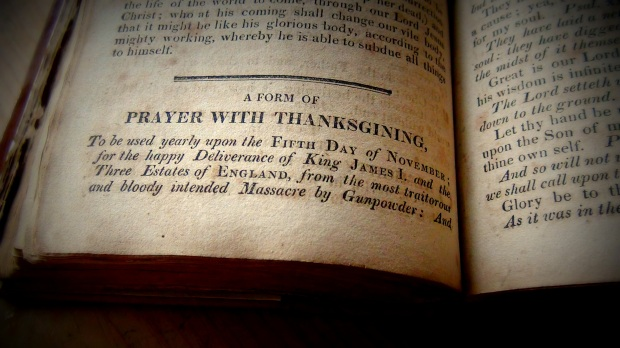 Prayer of thanksgiving from the Book of Common Prayer © 2015 Simon Peter Sutherland
