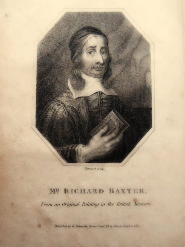 Richard Baxter © 2015 Simon Peter Sutherland