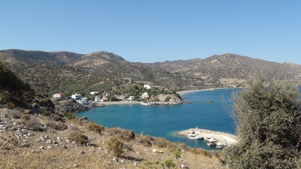 Kaloi Limenes 'Fair Havens' Crete © 2016 Simon Peter Sutherland