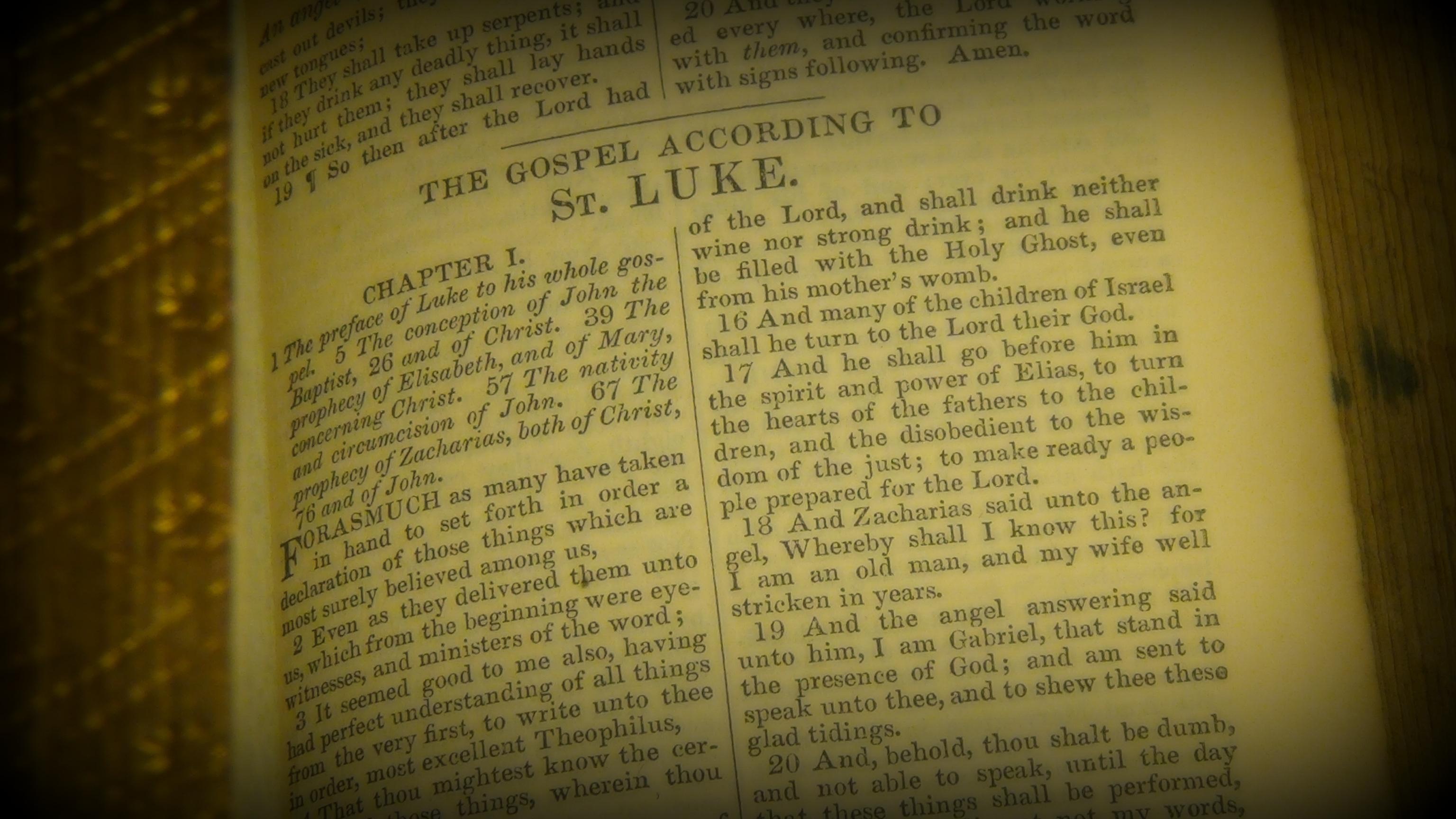 The Gospel of Luke KJV © 2017 Simon Peter Sutherland