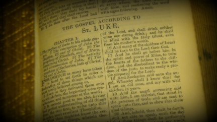 The Gospel of Luke KJV © 2017 Simon Peter Sutherland