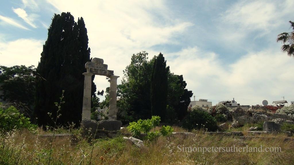 Ancient Agora Kos town © 2017 Simon Peter Sutherland