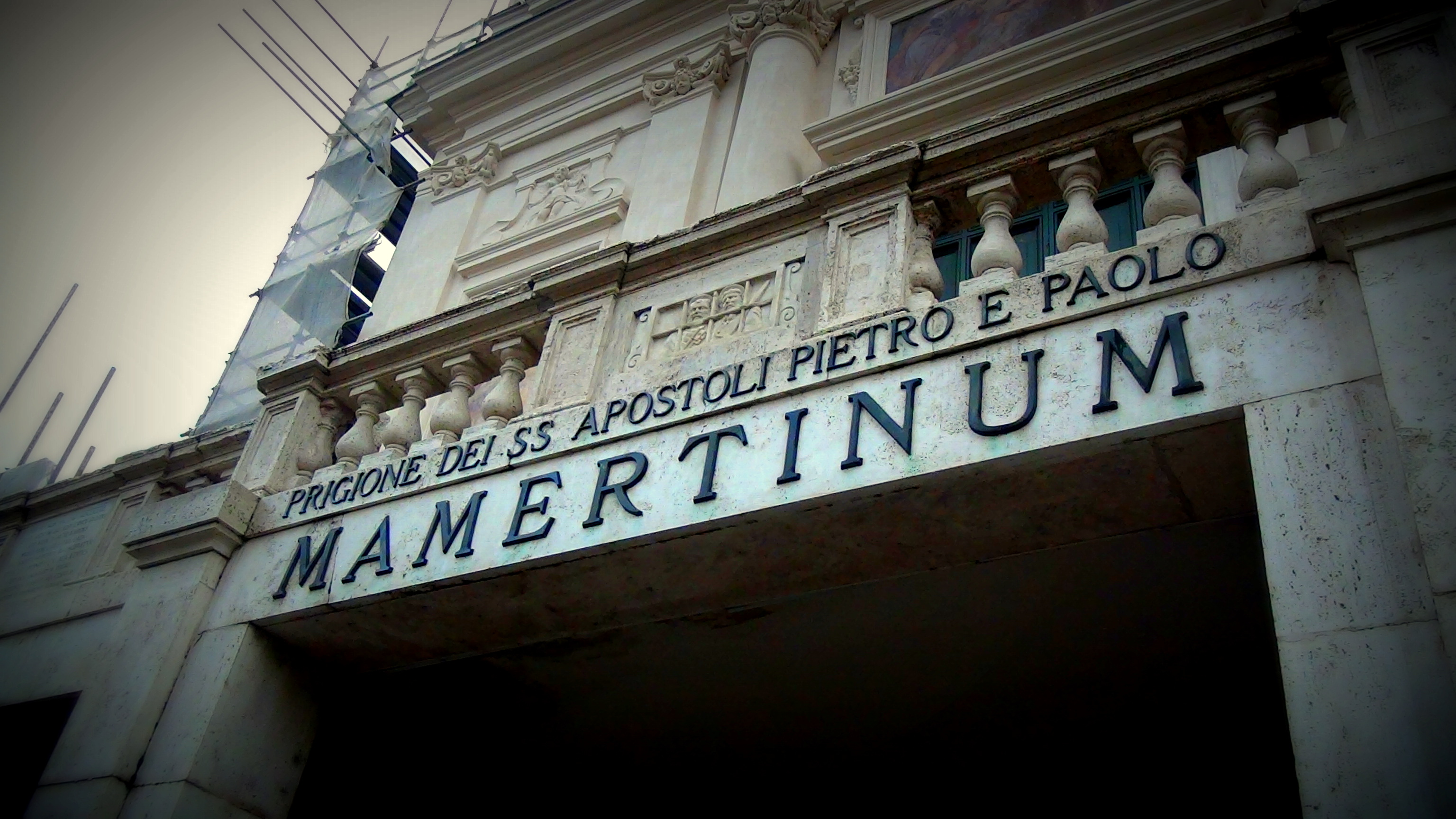 Mamertine Prison Rome. By Simon Peter Sutherland © 2014